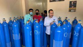 برلماني يدشن مبادرة لتوفير 160 أنبوبة أكسجين لحالات العزل المنزلي بطوخ