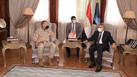 رئيس قناة السويس يلتقي مدير الشئون الاستراتيجية بالقيادة الأمريكية