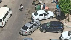 النيابة تعاين موقع العثور على جثة فتاة في الإسكندرية