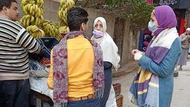حملات توعوية للتطعيم ضد شلل الأطفال في الإسكندرية