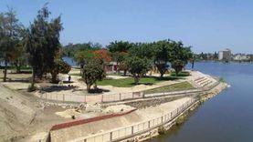 مجلس مدينة القناطر الخيرية يخلي المباني المعرضة للغرق بمياه النيل