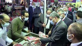 بتخفيضات 35%.. محافظ المنيا يفتتح معرض «أهلا رمضان»