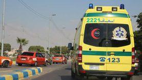 إصابة 4 أشخاص في سقوط سيارة من أعلى كوبري نفيشة بالإسماعيلية