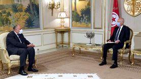 سامح شكري يسلم رئيس جمهورية تونس رسالة من السيسي (صور)