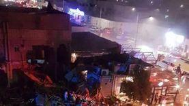 وفاة شخص وإصابة 7 إثر انفجار أسطوانات غاز في مطعم بالسعودية