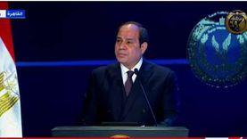 السيسي: تحية للشعب المصري الذي يعي قيمة الأمن