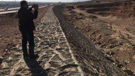 63% نسبة تنفيذ مشروع وادى غرندل لمواجهة السيول بجنوب سيناء