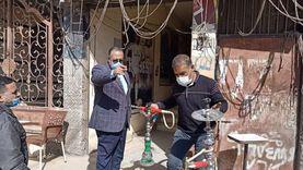محافظ أسيوط يتفقد المجمع الصناعي والسكرتير العام يقود حملة على المقاهي