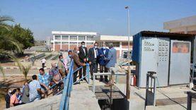 """""""محور ومستشفى"""".. 4 مشروعات قومية تنفذها الدولة في سمالوط بالمنيا"""