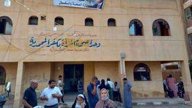 توقيع 1154 كشف طبي بقافلة مجانية في كفر المحمدية بالدقهلية