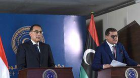 مدبولي يعلن عن اتفاق تسهيل دخول البضائع المصرية للأسواق الليبية