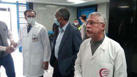 مدبولي يتفقد مستشفى شبين الكوم التعليمي الجديد «فيديو»
