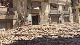 """""""مقر فرقة رضا"""".. قصة شقة الطابق الثالث في عقار قصر النيل المنهار"""
