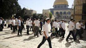 62 مستوطنا يقتحمون الأقصى بحماية شرطة الاحتلال الإسرائيلي