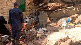 المحامي العام بطنطا يحقق بواقعة انهيار جزئي لمنزل سكني 5 طوابق بالمحلة