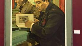 """صور.. دوريات لزيارات عبدالناصر للإسكندرية في معرض """"كنوز البلدية"""""""