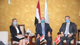 وزير النقل يبحث آلية تدابير كورونا بالموانئ مع سفيري الدنمارك والنرويج
