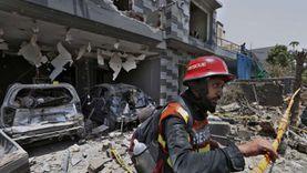 سقوط قتيلين إثر انفجار مصنع مشروبات في لاهور الباكستانية «فيديو»