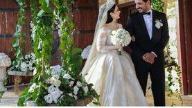 ديانا كرازون تطمئن جمهورها بعد أنباء القبض على زوجها خلال حفل الزفاف
