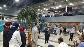 مطار القاهرة يستقبل اليوم 9496 راكبا من جنسيات مختلفة