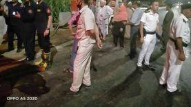 """""""عمدة دبركي"""": حريق منوف حدث في عزبة زوجة وزير العدل الأسبق فاروق سيف النصر"""