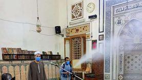 الأوقاف تواصل حملتها لنظافة المساجد وتعقيمها للأسبوع الخامس