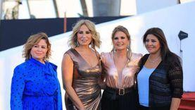 """النجوم يحتفلون بتوقيع مسلسل يسرا الجديد على هامش مهرجان """"الجونة"""""""