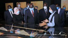 وزير التعليم العالي بجنوب السودان يزور مكتبة الإسكندرية