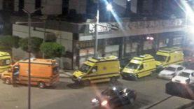 """""""تعبان وجاي يكشف"""".. جمل يقتحم قسم الاستقبال بمستشفى أوسيم (فيديو)"""