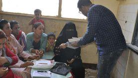 جنوب سيناء تنتهي من محو أمية 257 مواطناً بمدينة الطور