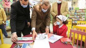 محافظ كفرالشيخ يشيد بالمواهب والأعمال الفنية في افتتاح المسرح المدرسي