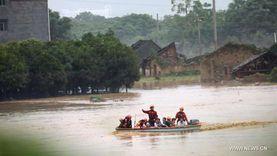 """كوريا الجنوبية تعلن 7 مدن متضررة من الأمطار الغزيرة """"مناطق كوارث"""""""