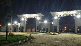 تشغيل منظومة الكهرباء الجديدة بفرع جامعة بنها في العبور