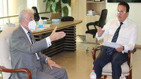 فودة يلتقي وزير التعليم العالي لبحث إنشاء جامعة حكومية بالطور (صور)