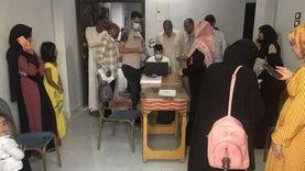 الفرق المتنقلة تستمر في تطعيم المواطنين بلقاح كورونا جنوب بورسعيد