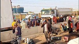 مصرع وإصابة 11 في حادث تصادم على طريق جمصة الدولي بالدقهلية «فيديو»