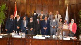 جامعة الإسكندرية تبحث سبل التعاون مع وزير التعليم العالي بجنوب السودان