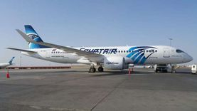 """""""مصر للطيران"""" تسير غدا 28 رحلة دولية وداخلية تقل على متنها 3100 مسافر"""