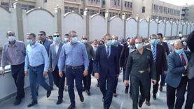 وزير الآثار يتفقد قاعات العرض بمتحف كفر الشيخ القومي