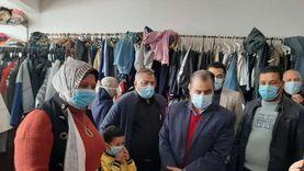 توزيع 30 ألف قطعة ملابس بالمجان في كفر الدوار «صور»