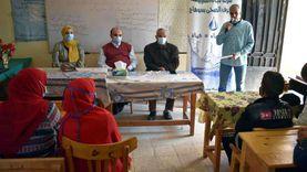 حملات توعية لطلاب المدرس بقضايا المياه في سوهاج وبني سويف