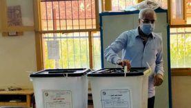 """رئيس اتحاد الكرة السابق يدلي بصوته في انتخابات """"الشيوخ"""" بالأقصر"""