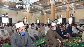 محافظ مطروح يفتتح المسجد الكبير بتكلفة 3 ملايين جنيه