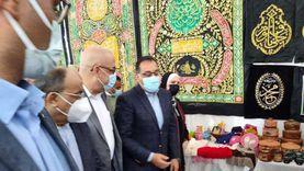 رئيس الوزراء يتفقد «معرض الحرف التراثية» بالمنوفية «فيديو وصور»