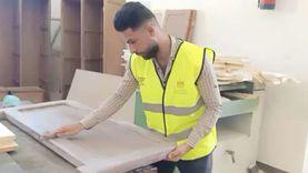 افتتاح أكبر ورشة لمتعافي الإدمان ضمن مبادرة «بإيدينا» في المنيا