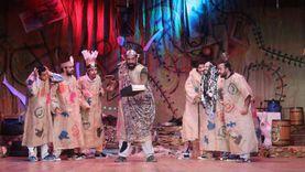 """صور.. مسرحية """"ريسايكل"""" تبدأ أولى ليالي العرض في مسرح الطليعة"""