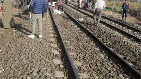 مصرع 3 أشخاص دهسهم قطار في الإسماعيلية