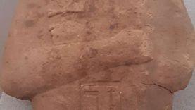 تمثال ملك من العصر الحديث في كشف أثري جديد بطريق الكباش