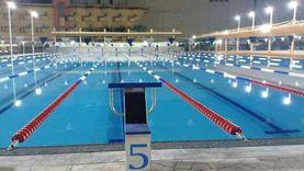 افتتاح حمام سباحة أوليمبي بنادي الرياضات البحرية بالغردقة