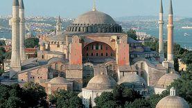 وفاة متطوع بمسجد آيا صوفيا في تركيا بنوبة قلبية
